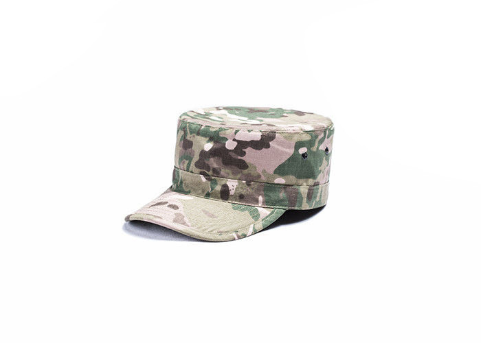 Custom Multicam Army Tactical Cap / Tactical Operator Cap With Arc Shaped Cap Brim